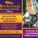 Listen to Win Scarborough Renaissance Festival Tickets