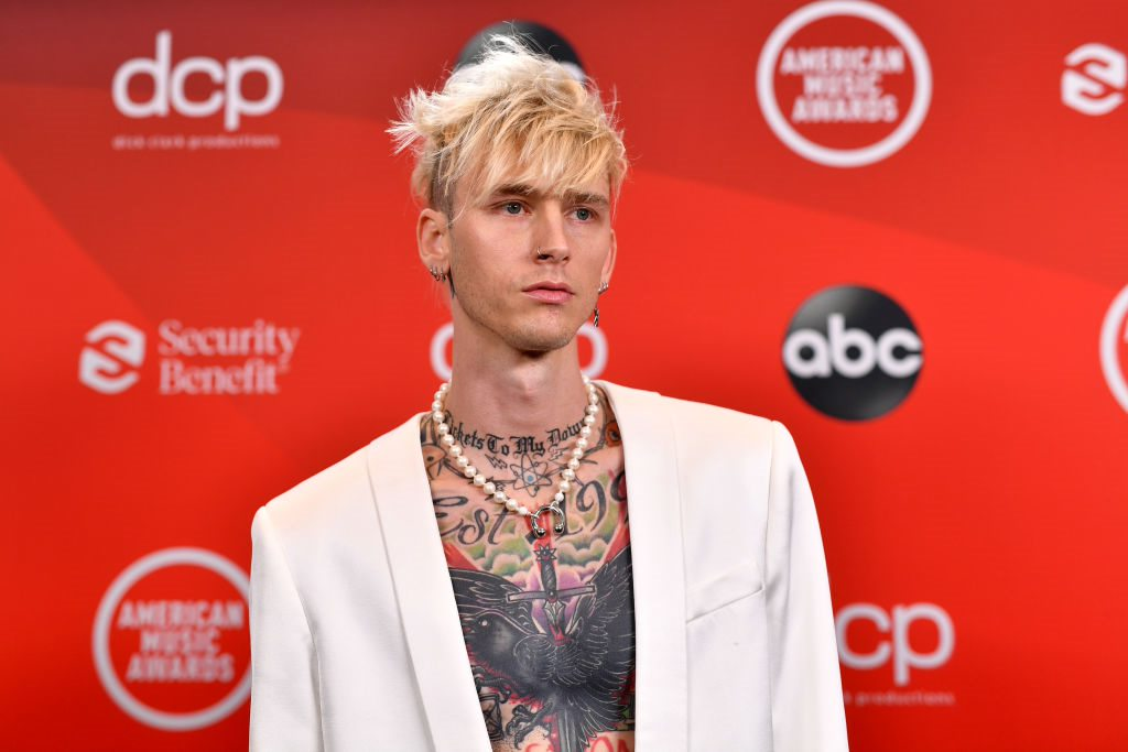 Machine Gun Kelly's Strange New Tattoo