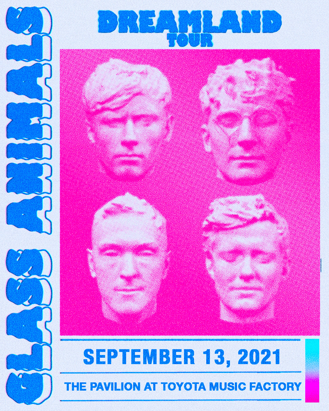 Glass Animals | The Pavilion at Toyota Music Factory, 9/13/21