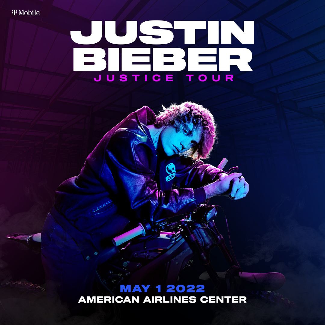 Justin Bieber   American Airlines Center, 5/1/22