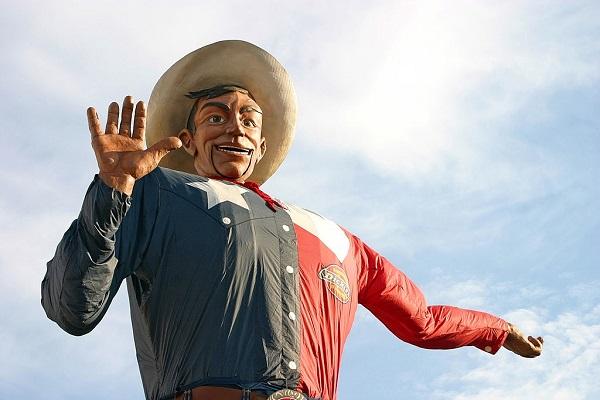 Big Tex, Dallas, Texas.