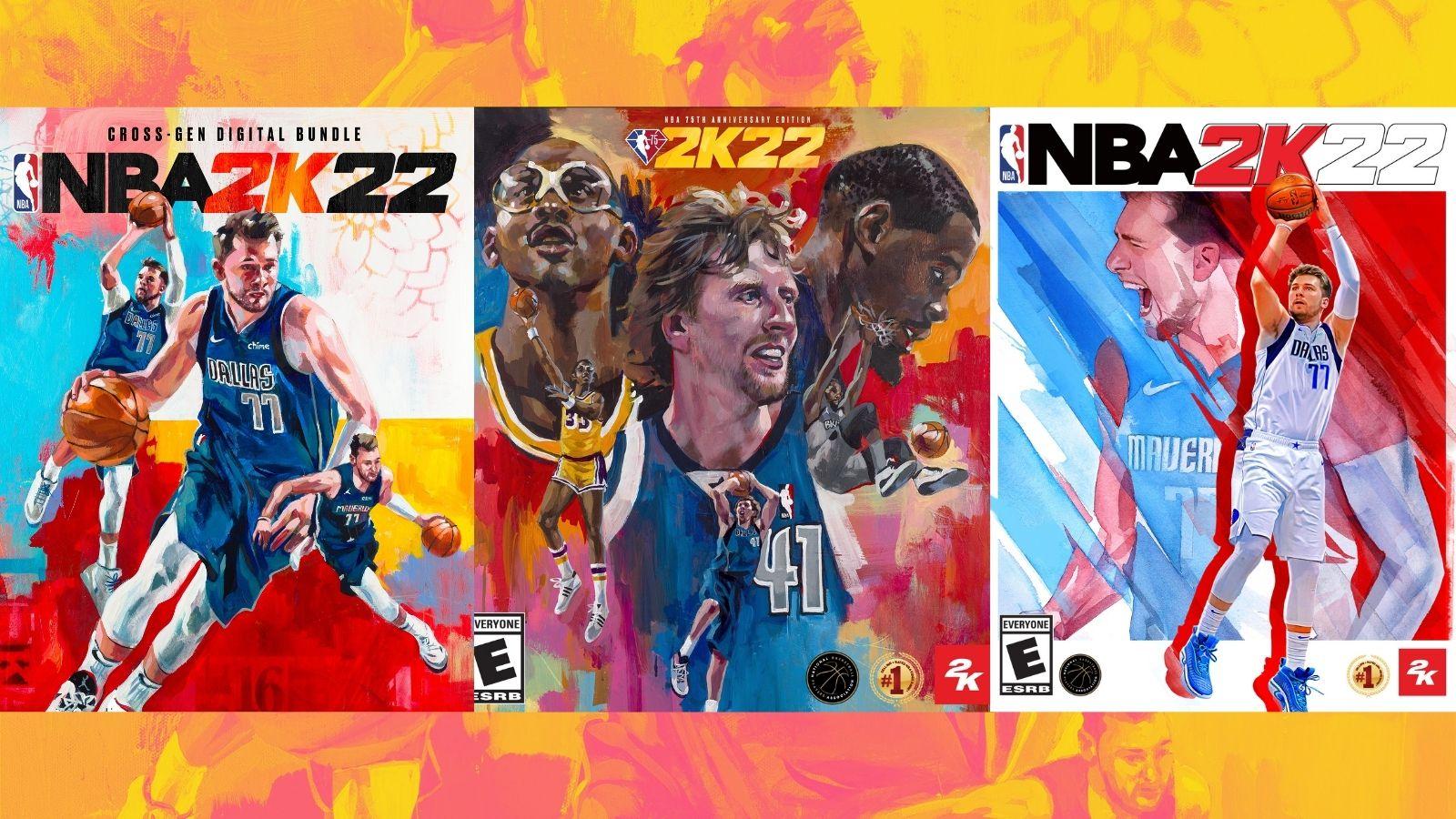 Luka & Dirk Get Cover Of NBA 2K22