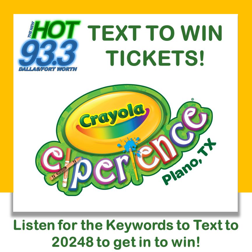 Listen to Win Crayola Tickets
