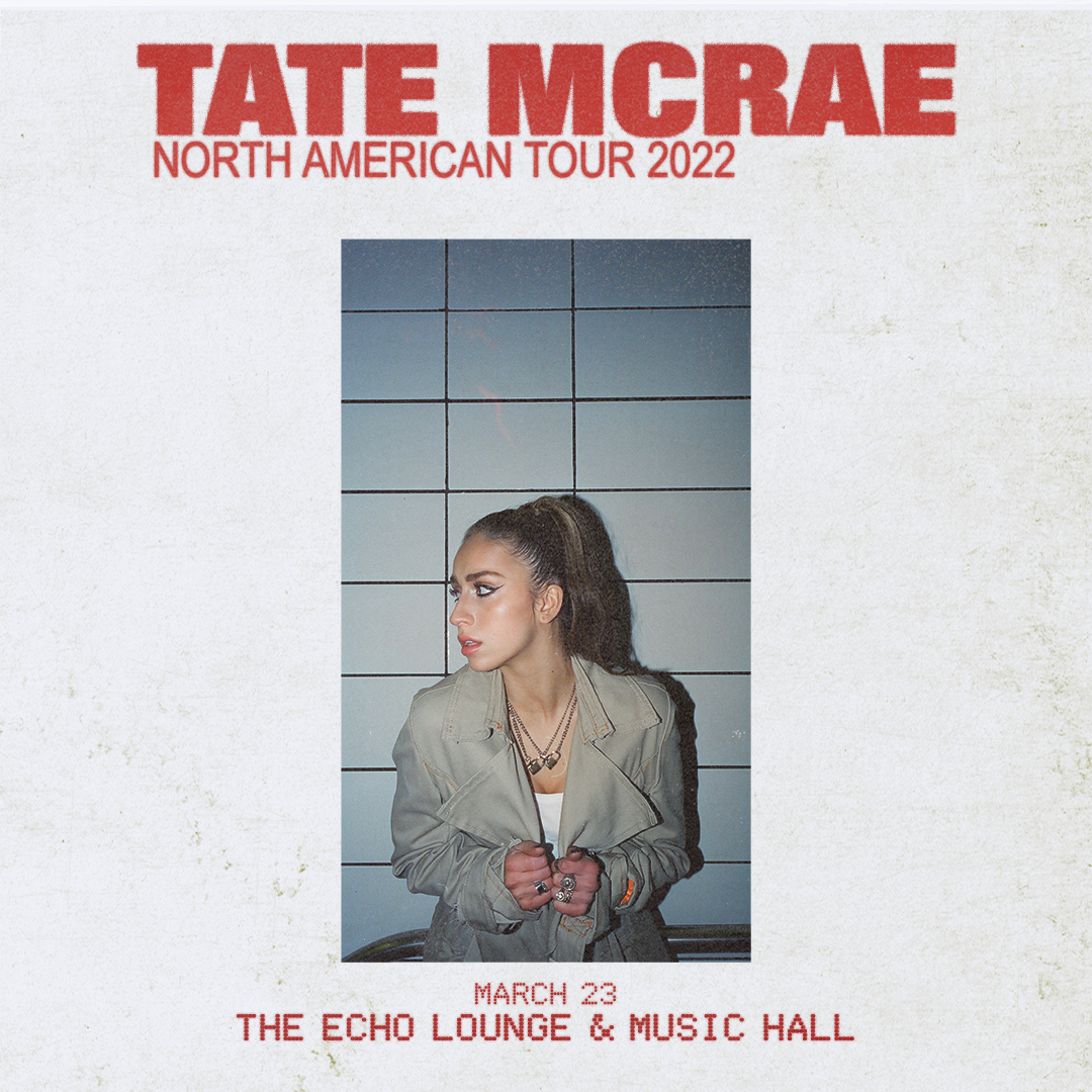 Tate McRae   The Echo Lounge & Music Hall 03.23.22