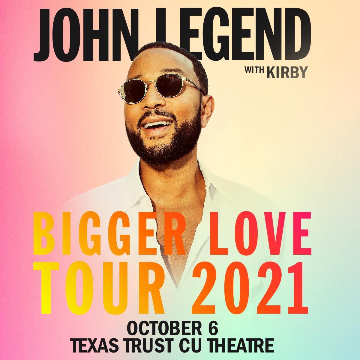 John Legend   Texas Trust CU Theatre at Grand Prairie, 10/6/21