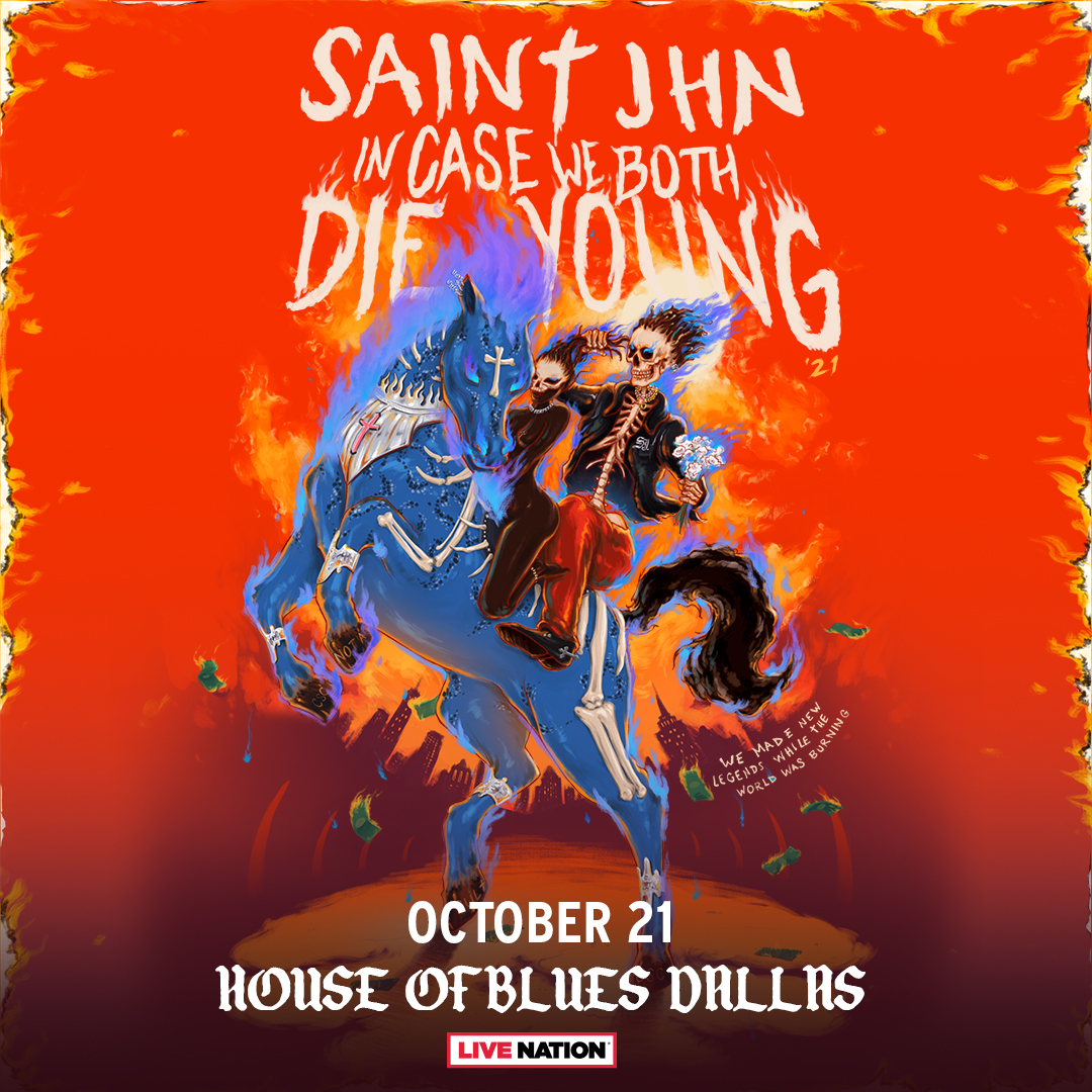 SAINt JHN   House of Blues, 10.21.21