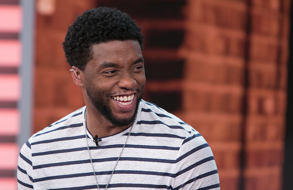 Chadwick Boseman Honored By Wife at Stand Up to Cancer Event