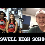 Sid chats about Friday Night Lights with the Cheerleaders from Braswell High School