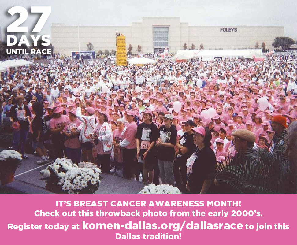 Welcome to October, Breast Cancer Awareness Month!