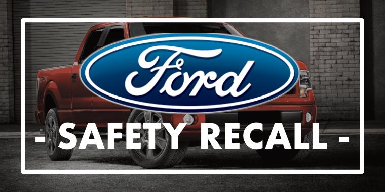 Ford recalling 1.5 million F-150 trucks