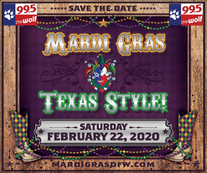 Save the Date! Mardi Gras Texas Style 2020!