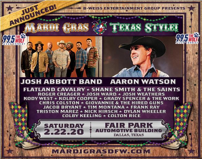 Mardi Gras Texas Style! | 2.22.20