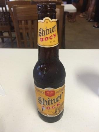 I'da brought some Shiner!