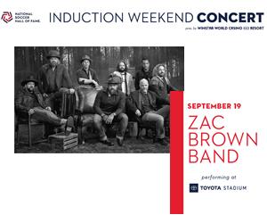Zac Brown Band | Toyota Stadium | 9.19.20