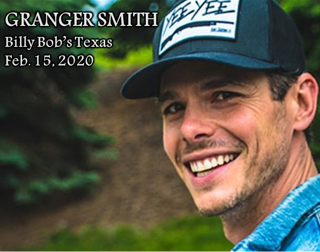 Win tickets to see Granger Smith at Billy Bob's!
