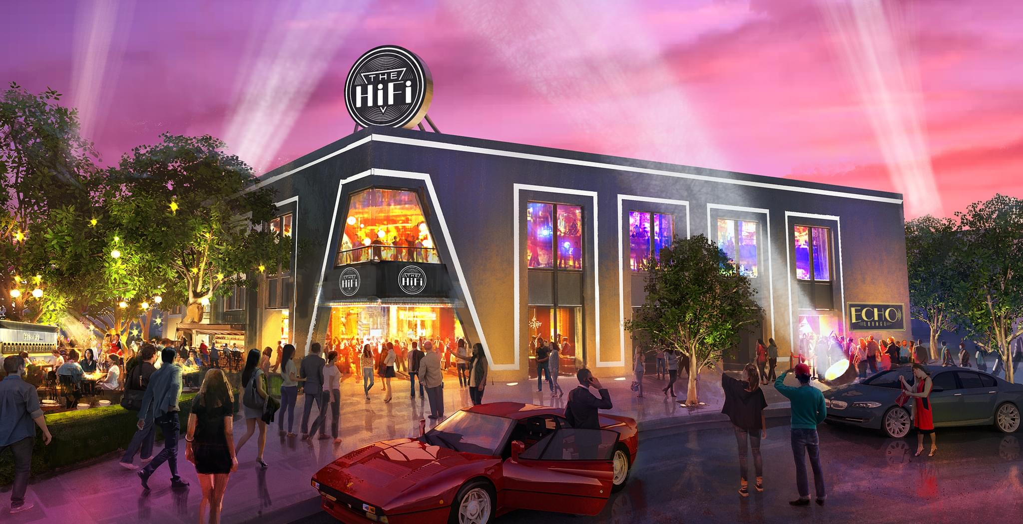 A Brand New 1,000 Seat Concert Venue Is Coming To The Dallas Design District!