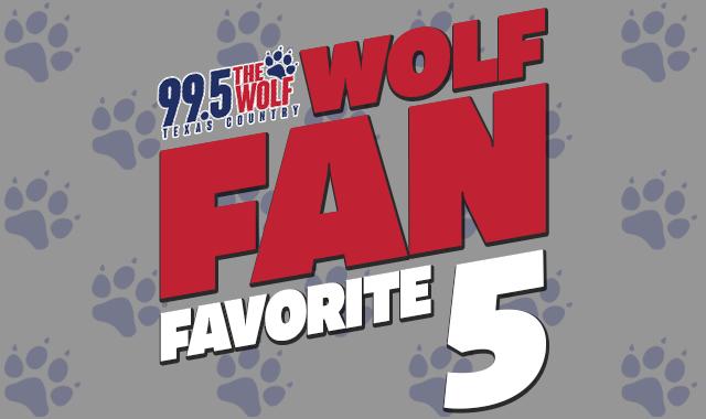 "Your ""Kazoo Day"" Wolf Fan Favorite 5 Countdown"
