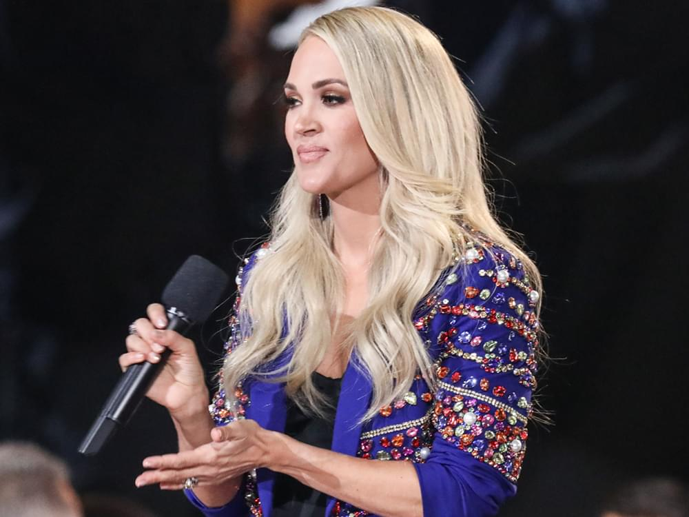 "Carrie Underwood Announces Tour for Her New Book, ""Find Your Path"""