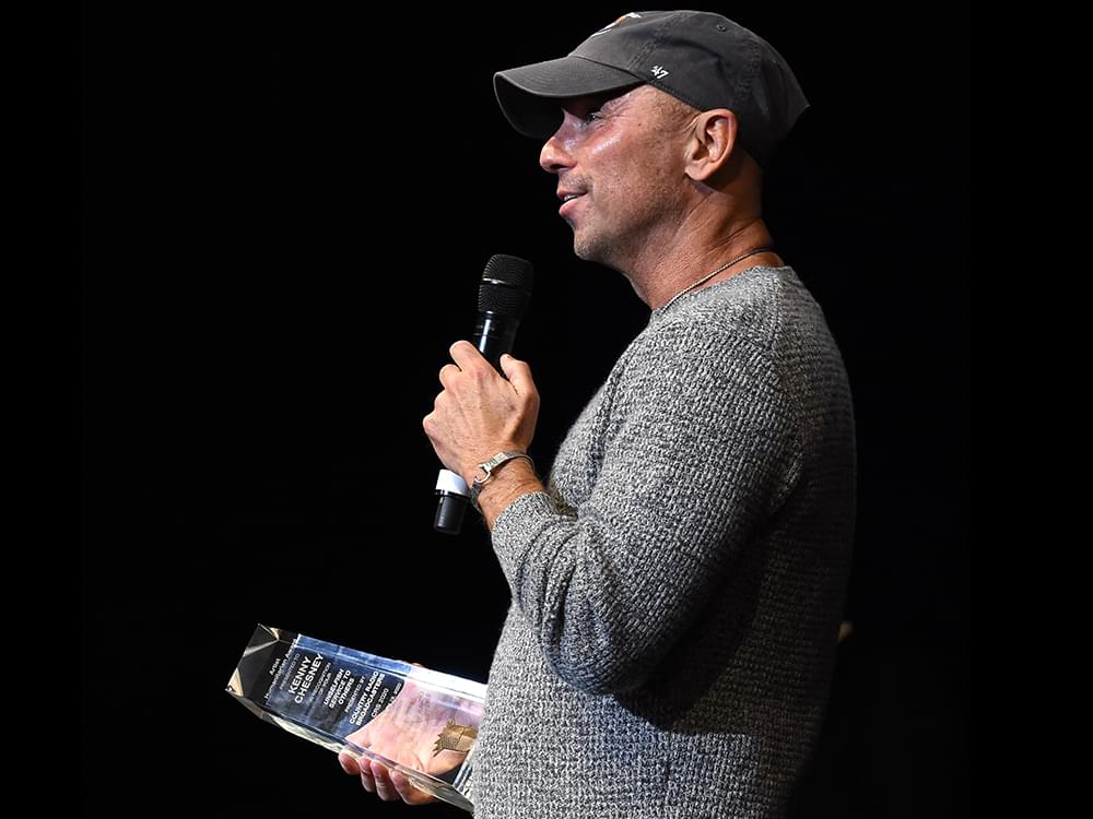 Kenny Chesney Honored by Country Radio Broadcasters With 2020 Humanitarian Award