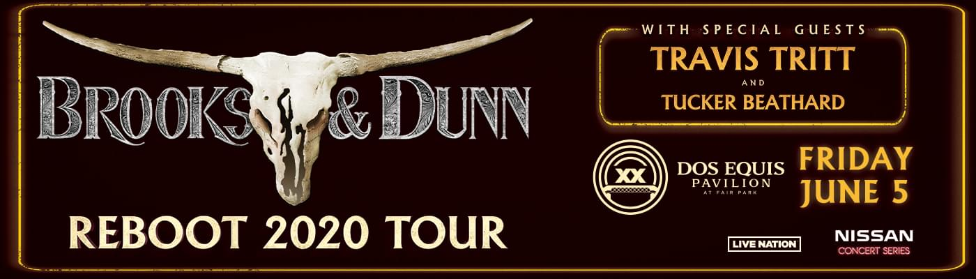Brooks & Dunn Coming To Dos Equis Pavilion June 5th!