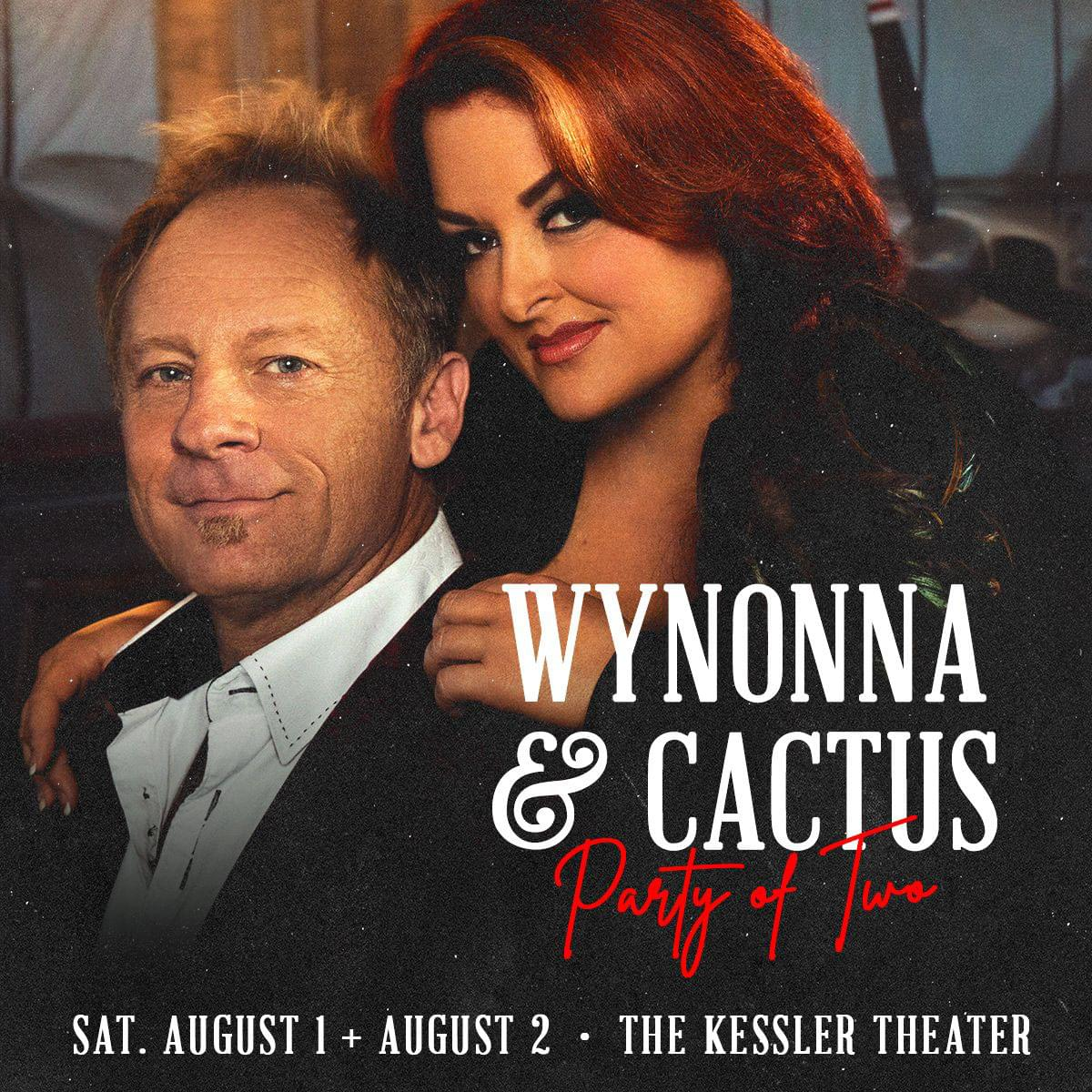 """Win Tickets to see Wynonna & Cactus """"Party of Two"""""""