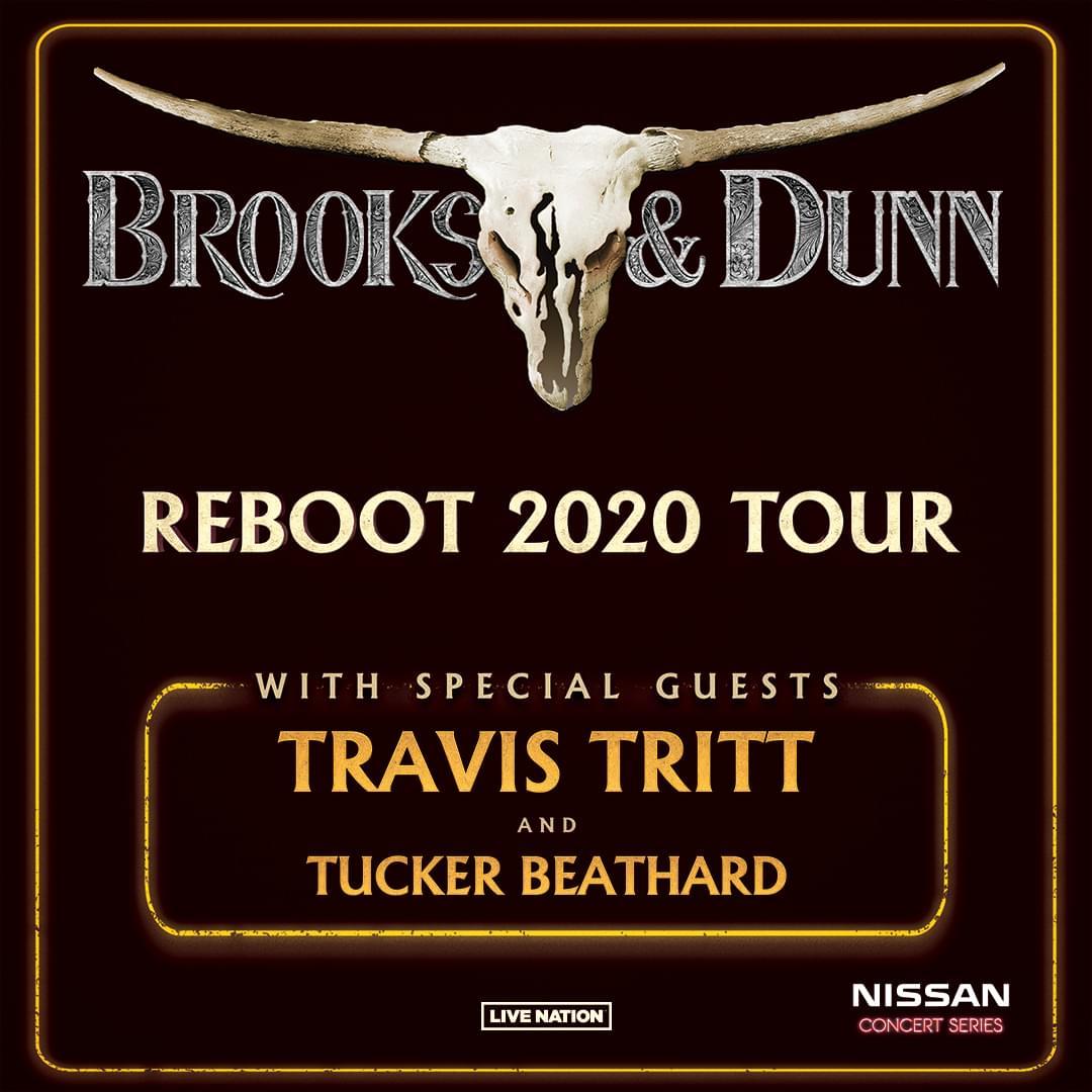 Brooks & Dunn Concert Rescheduled For October 30th!