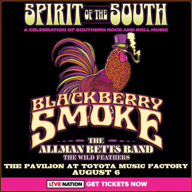 Blackberry Smoke | The Pavilion at Toyota Music Factory | 8.6.20