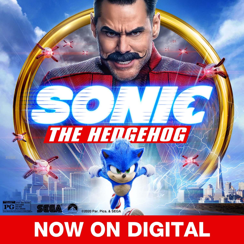 "Win ""Sonic The Hedgehog"" on Digital"
