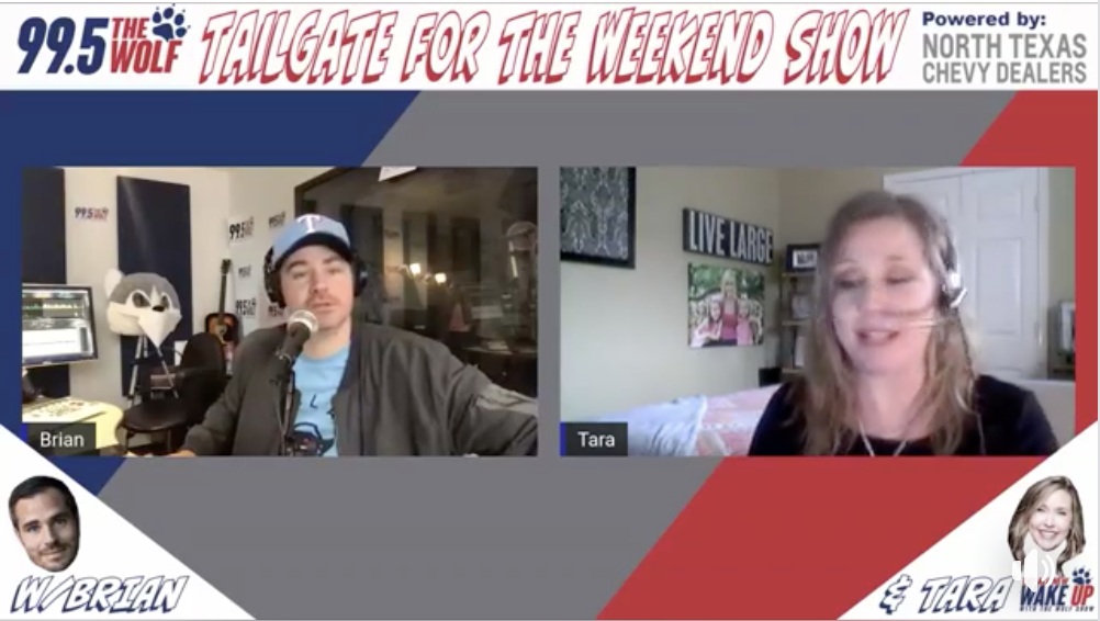 The Wolf Tailgate for the Weekend Show 4.24