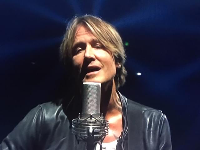 Keith Urban Stages A Free Drive-In Concert For Healthcare Workers