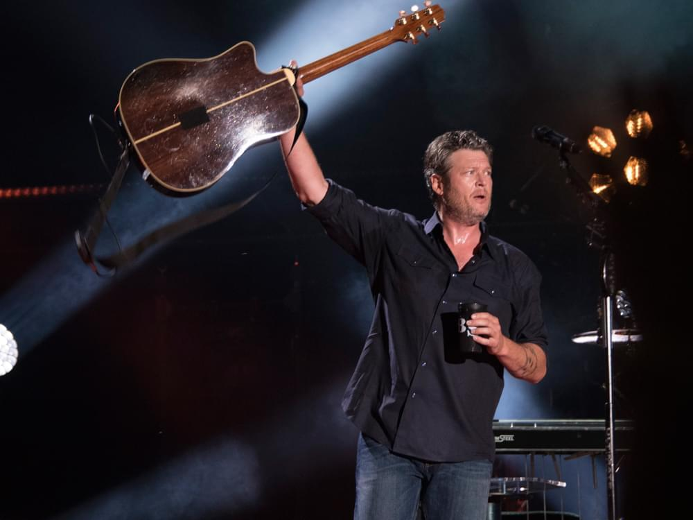 Tickets For Blake Shelton's Drive-In Concert Go On Sale Tuesday At Noon! Details Here..