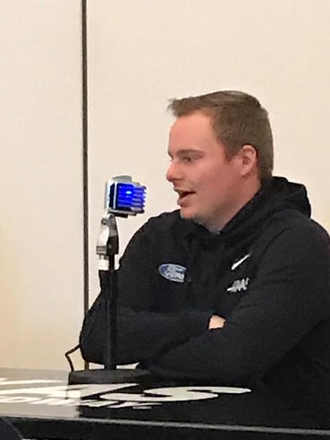 Cole Custer Gets First NASCAR Cup Series Win And Talks To Mark Phillips About This Sunday's Race At Texas Motor Speedway!