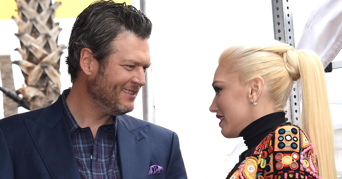 "Listen to Blake Shelton's Tender New Tune, ""Happy Anywhere,"" Featuring Gwen Stefani"