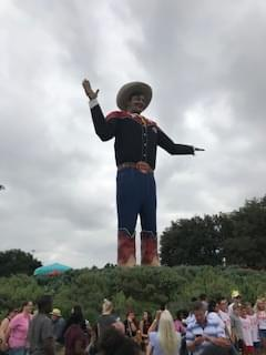 Why Is Big Tex In Boerne? Getting A Makeover…..What's Changed?