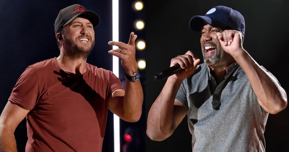 Luke Bryan & Darius Rucker to Perform on the Grand Ole Opry on Aug. 15
