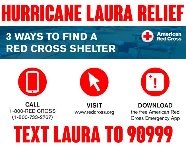 Hurricane Laura Relief