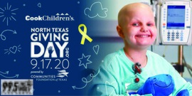 Join The Wolf And Cook Children's To Help Erase Kid Cancer On North Texas Giving Day