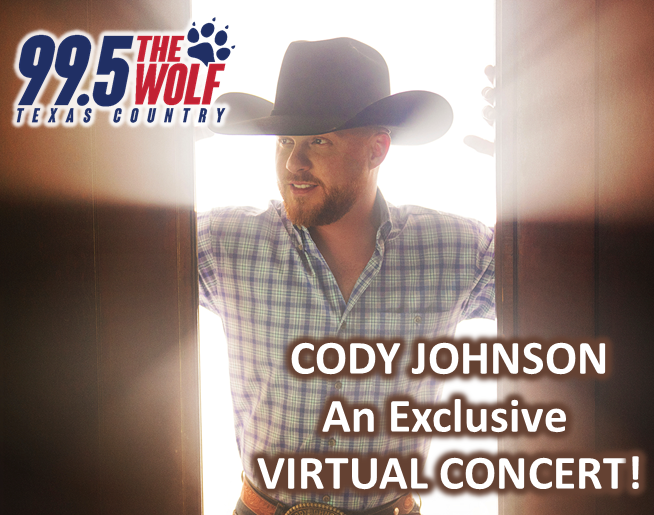 Win a Ticket to Our Virtual Cody Johnson Concert!