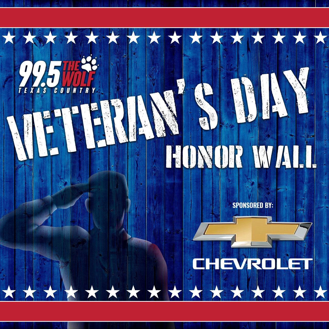 Veteran's Day Honor Wall