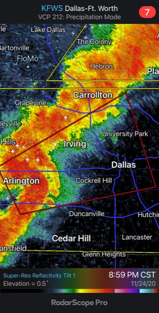 EF2 Tornado In Arlington Tuesday Night