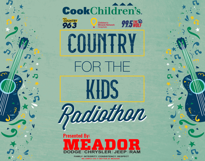 Country For The Kids Radiothon