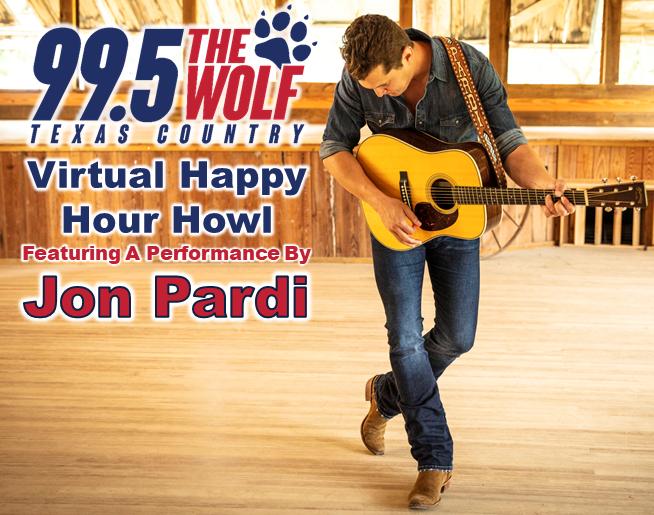 Happy Hour Howl with Jon Pardi!