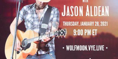 Jason Aldean - Wolf Moon Event Jan 18th