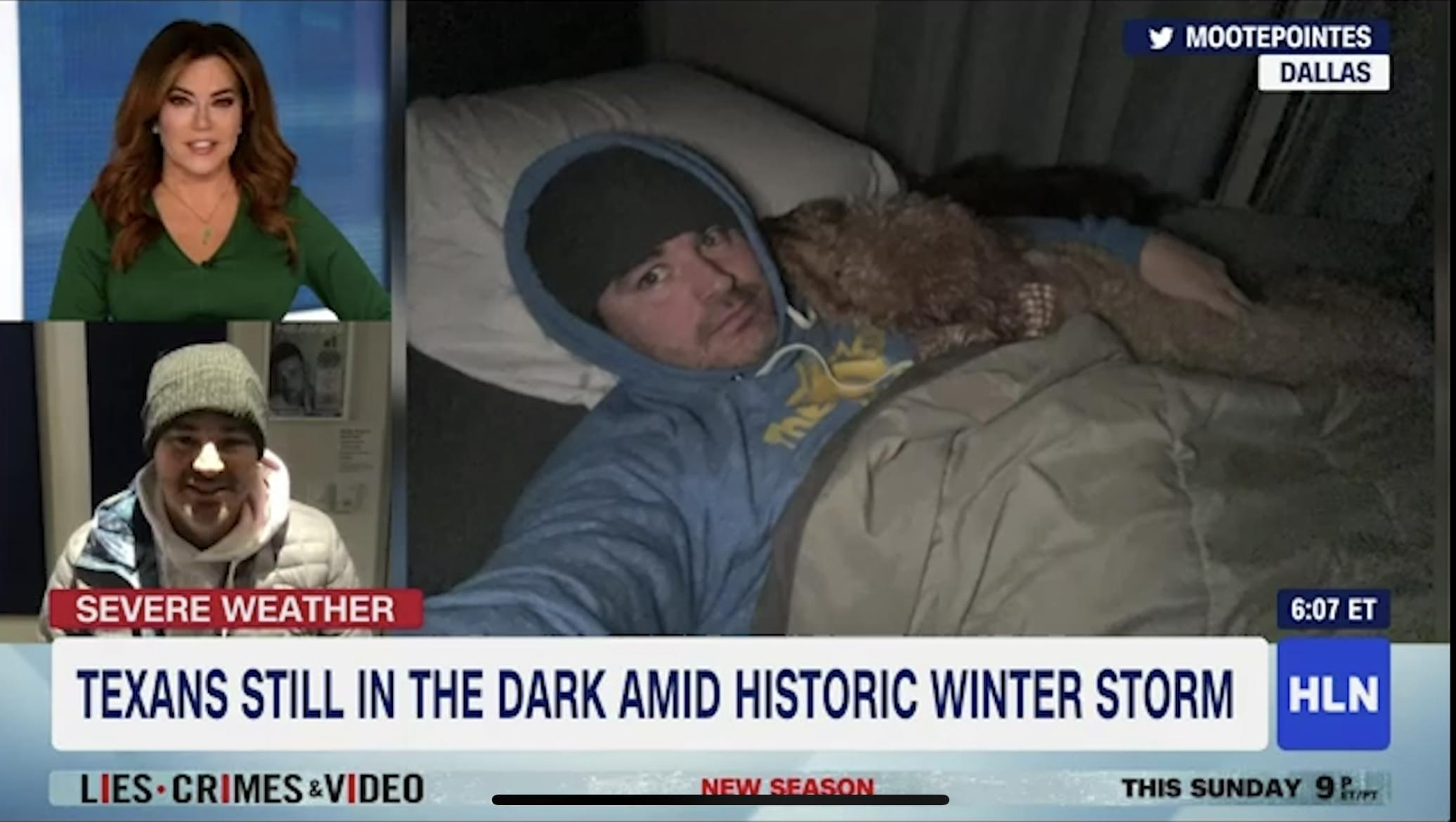 Brian was on HLN Talking about the DFW Blackout