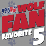 "Your ""Toy Soldier Day"" Wolf Fan Favorite 5 Countdown"