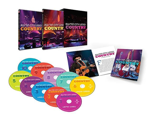 50 Years Of Austin City Limits Now On DVD