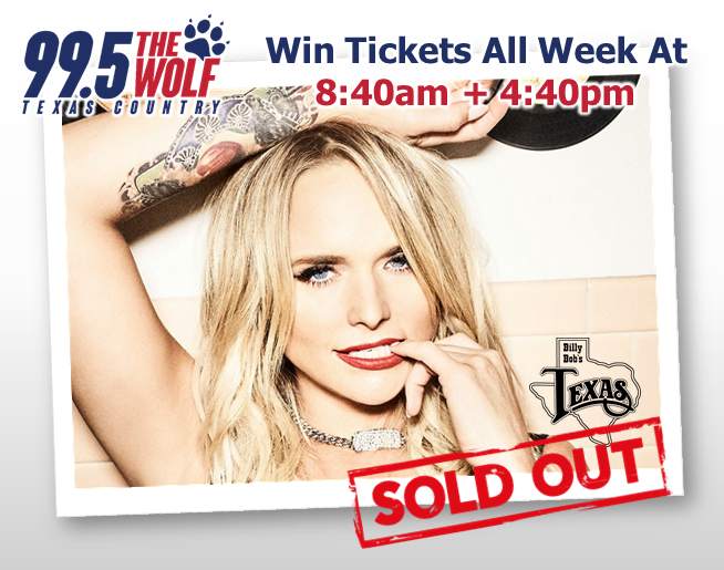Win Tickets to the SOLD OUT Miranda Lambert Shows!