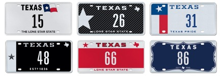What is Your Dream Texas License Plate??