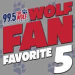 "Your ""Hoagie Day"" Wolf Fan Favorite 5 Countdown"