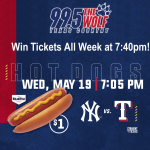 Listen to Win Rangers Tickets